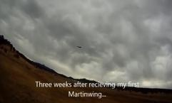 MARTIN WING, FLYING,SOARING, SLOPESOARING, VIDEO, UTUBE