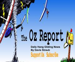 Oz Report, Davis Straub ,hang gliding,Martin Wing video, soaring, foam wing, RC glider, slope soaring, flying, girls flying, aircraft