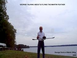 george ferris of martin wing, martin wing video, zagi, trick rc, slope soaring, rc flying, outdoor sports, martin wing site face book,