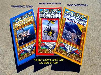 BEST SHORT STORIES, NUMBER ONE SELLING BOOKS, READING, HANG GLIDING, MEXICO